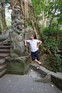 D. e i templi di Ubud