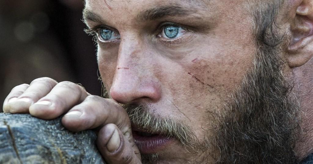 Il terrore delle saghe norrene, Ragnar Lothbrok, interpretato da Travis Fimmel.