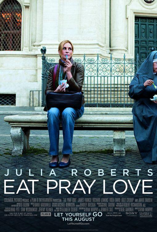 """Dal diario inventato di Elizabeth Gilbert: """"La sezione del libro in cui vivo in Italia come la posso chiamare? Ovvio: Mangia."""""""